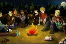 Percy Jackson, bohovia olympu, Harry Potter