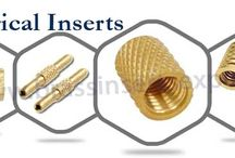 Brass Electrical Inserts