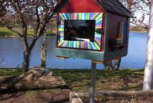 Little Free Library - Lake Katherine, Palos Heights, IL / Established 2014 in honor of the Palos Heights Public Library's 70th Anniversary
