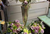 Wedding Bouquets / Fresh unique wedding bouquets by Le Jardin in Edinboro PA