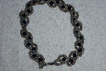 Boncuk işi Çalışmalarım #Beading #Necklace #Bracelet #Earring / takı