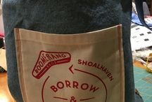 Boomerang Bags Berry / Cloth reusable bags - an alternative to plastic bags