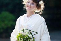 カラーウエディング / 二人の大好きな色と、お似合いの色でデザインする結婚式