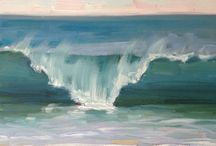 Oil colour paintings