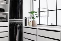Walk in closet / one day