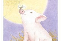 """Banned Book Week 2013 / Charlotte's Web is 13th on ALA's list of frequently challenged classics because: a. """"Talking animals are blasphemous."""" b. """"Stories about pigs might offend Muslims.""""  c.  Both"""