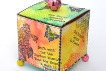 IndigoBlu Challenge 39 - Spring is in the Air / Design Team and Demonstrator challenge pieces