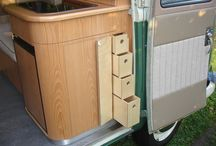VW camper van design ideas / Planning the future