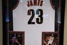 Framed Basketball Jerseys