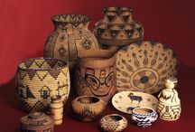 American Indian Baskets / At 25,000+ fiber objects, Arizona State Museum's collection of American Indian baskets and other woven items is the world's largest and most comprehensive, representing every basket-making culture in North America and dating back 6000 years.