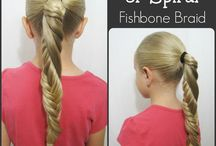 Hair: Fishtail and Fishbone