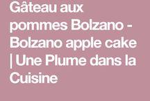 Gâteaux aux pommes spécial