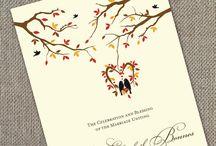 wedding - inbjudan