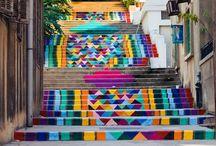 Escadarias urbanas / Exemplos de escadarias urbanas maravilhosas pelo mundo!