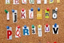 Alphabet/abécédaire