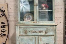 Repainted furniture 2 / Stare a nowe