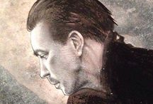 """Rammstein fanarts & tributes / My drawings and paintings about Rammstein. Gifts and/or commissions for friends and websites, fan clubs and such.  (about the hyper realistic pieces inside here: no they are not photos, yes they are all handmade paintings, and no there are no plugins of any sort involved). More info about their realization in the """"various work in progress"""" album on my facebook page."""