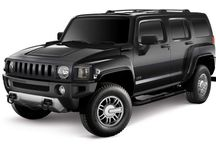 Hummer / Hummer was a brand of trucks and SUVs, first marketed in 1992 when AM General began selling a civilian version of the M998 Humvee. In 1998, General Motors (GM) purchased the brand name and marketed three vehicles: the original Hummer H1, based on the military Humvee, as well as the H2 and H3 models that were based on smaller, civilian-market GM platforms.
