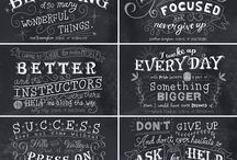 Lettering/Type / Lettering and typography inspiration for an aspiring hand-lettering geek