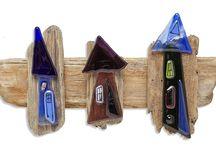 Driftwood & glass