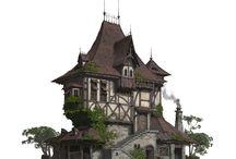 средневековье здания