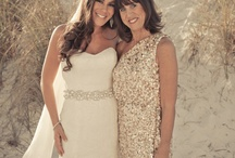 The Bride and her Mother - fashion and photos