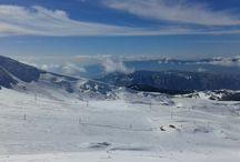 .....sports that I miss doing..... / snow resort arachova greece