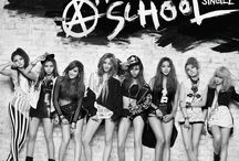 """After School / After School (Hangul: 애프터스쿨, Katakana: アフタースクール, often stylized as AFTERSCHOOL, abbreviated as A.S.) is a South Korean girl group formed by Pledis Entertainment in 2009, with an admissions and graduation concept. The band currently consists of seven members: Jungah, Uee, Raina, Nana, Lizzy, E-Young and Kaeun. After School officially debuted in January 2009. Later that year they released """"Because of You"""", which was ranked number 1 on multiple music charts."""