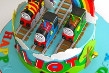 Thomas Engine cake / Thomas de trein cakes
