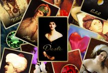 Katina, Aşk Falları  - Tellwe / Katina deste olarak bilinen ve genellikle aşk üzerine sorular için açılan fal.