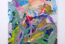 Anke weyner /  Brooklyn-based German artist - abstract