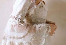 wedding antique dress