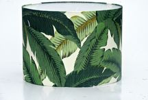 Tropical Lampshades