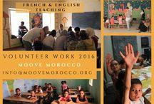 Volunteering / Summer projects 2016