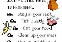Lunchroom behavior