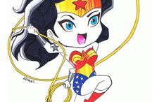 girl power / various wonder woman products