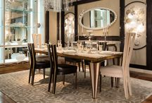 Milano 2015 - MICHELANGELO dining table and chairs / Milano 2015 - MICHELANGELO dining table and chairs