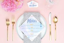 Watercolor Wedding / by Orlando Wedding & Party Rentals