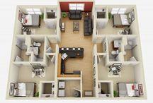 desain rumah 4 KT
