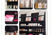 Retail in Salon / A collection of brands available for retail in salon