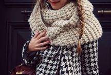 Scarves / Scarves are wonderful accessories, whether the weather is freezing or warm ~ they can add some color and personality to your wardrobe.
