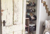 αντικείμενο barn door για την ντουλάπα υπογειου