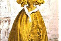 1830s-1840s fashion