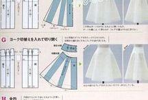 pattern/pola jahitan