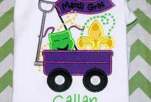 Mardi Gras Kids Shirts