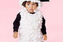 schapen kostuum