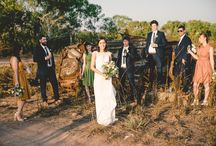 Bush Weddings / From vintage to modern, inspiration from our outback weddings.