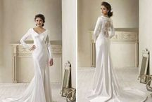 Bridal Gowns / Lots of bridal gowns styles, each with its own personality
