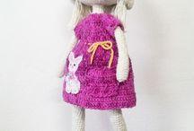 Boneca de Crochê / Bonecas e outras ideias de crochê