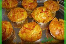 Apéritif: les muffins salés / Bouchées, muffins